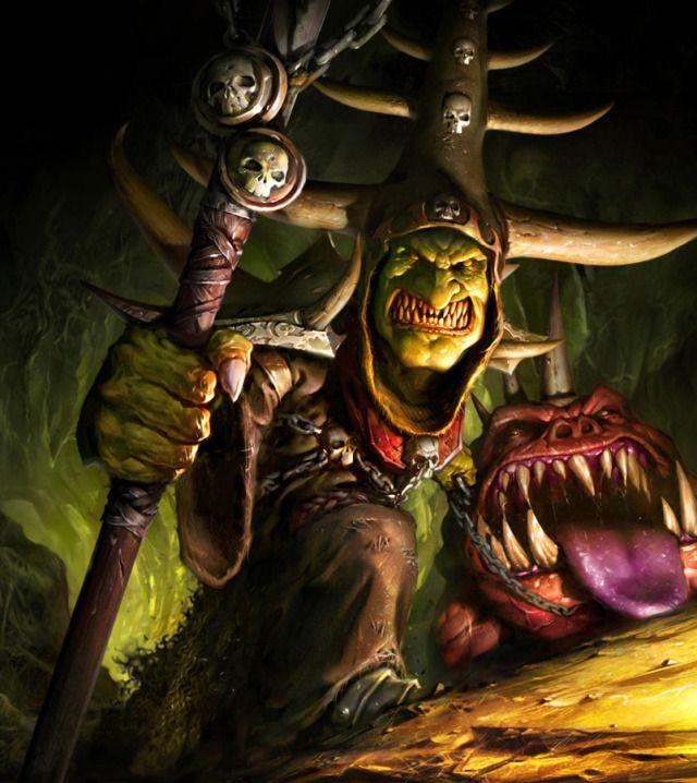 Night Goblin Shamans Use The Shaman Mushroom, Which Gives