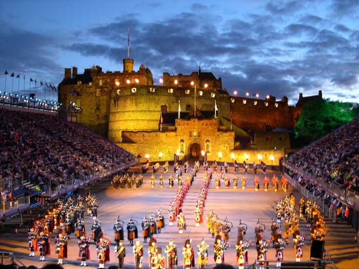 Royal Edinburgh Millitary Tattoo 2012. I have been told I must experience this at the fringe fest this year.