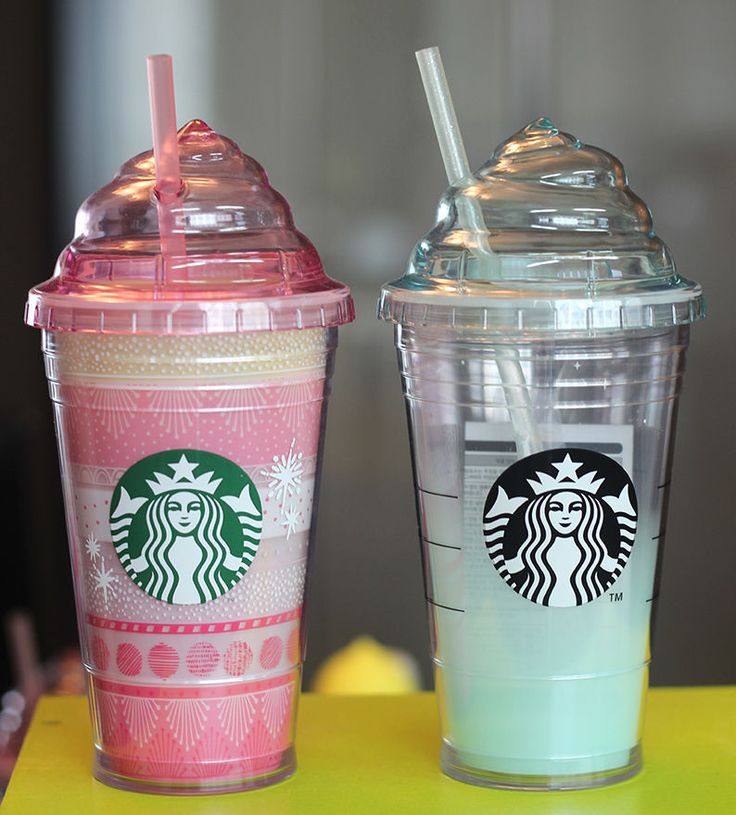 Korea Starbucks 2015 Cold Cup 473ml, 2016 Mint Cream Cold Cup Tumbler 473ml #Starbucks