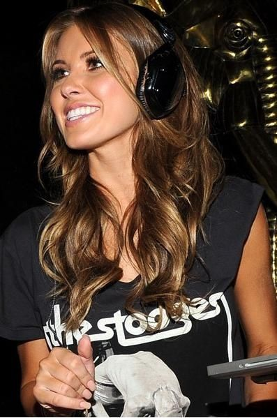 Love this hair color, golden brown with highlights