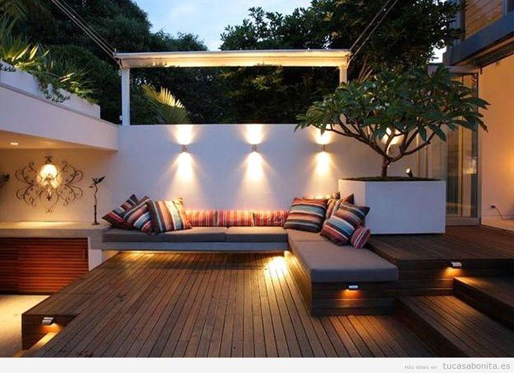 Muebles De Baño Faro:Modern Courtyard Garden Design
