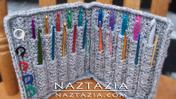 かぎ針編みで使うかぎ針を、キレイにたくさん収納しましょう!可愛いケースの作り方を紹介しているレシピ動画を集めてみました♪