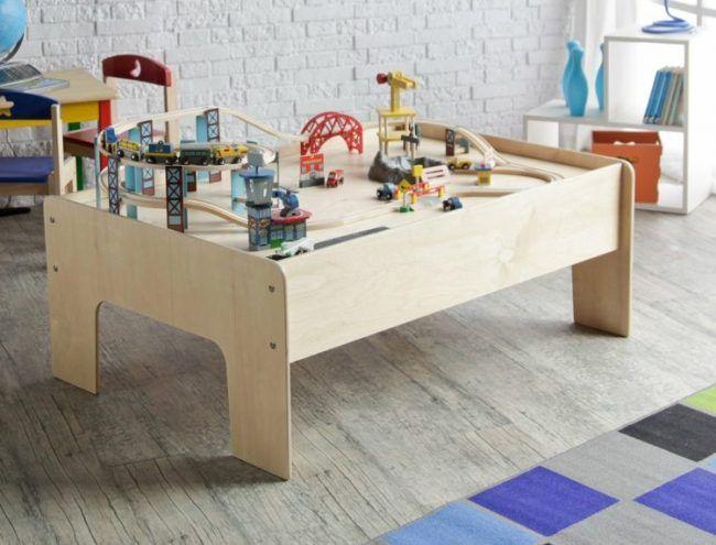 die besten 25 spieltisch ideen auf pinterest zug spieltisch kinderzimmer im keller und baby. Black Bedroom Furniture Sets. Home Design Ideas