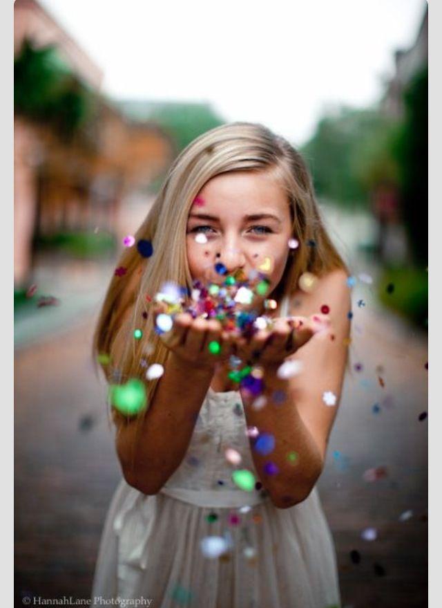 Senior pictures: I love the glitter