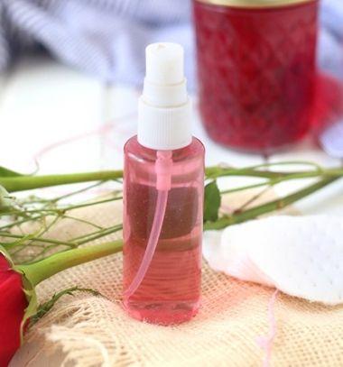 Homemade rosewater ( DIY rosewater face toner recipe ) // Rózsavíz készítése házilag egyszerűen (recept) - szépségápolás // Mindy - craft tutorial collection
