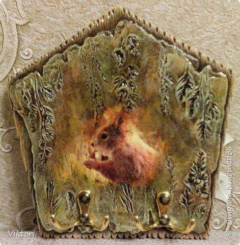 Декор предметов Декупаж Ключница фото 1