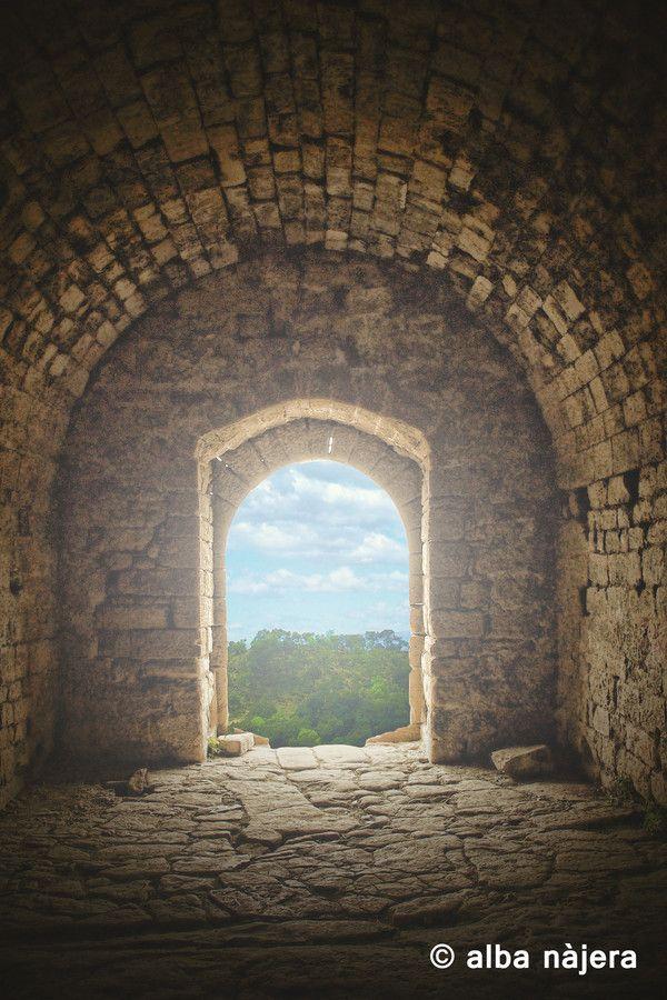 Castell de la Popa by Alba Najera on 500px #castle #architecture #relax #landscape #window #door