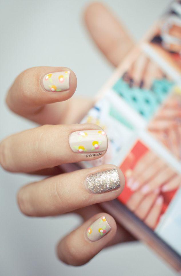 Les 47 meilleures images du tableau nail art sur pinterest - Nail art discret ...