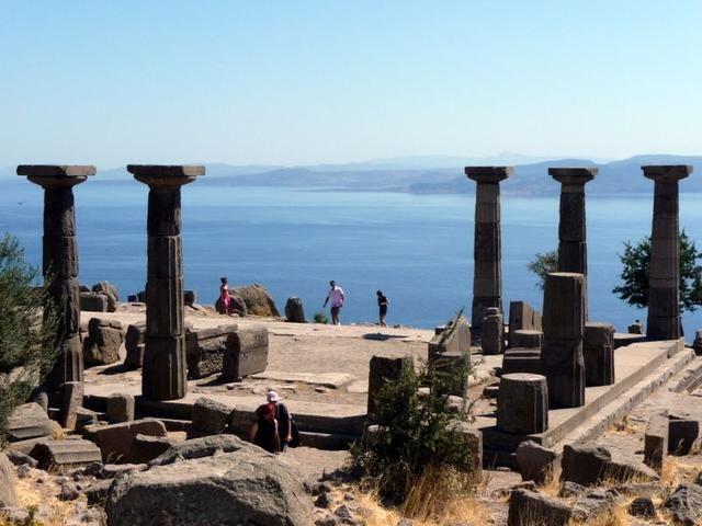 Athena Temple, Assos, Turkey