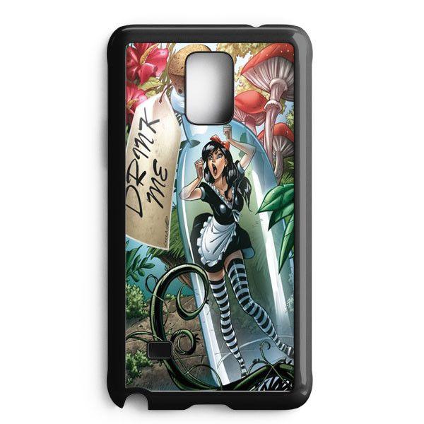 Alice In Wonderland Samsung Galaxy Note 5 Edge Case