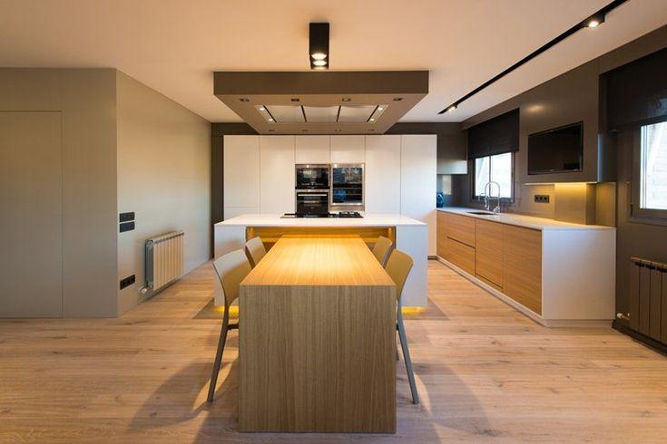 Attic apartment interior design, 2013 - jordi aymerich