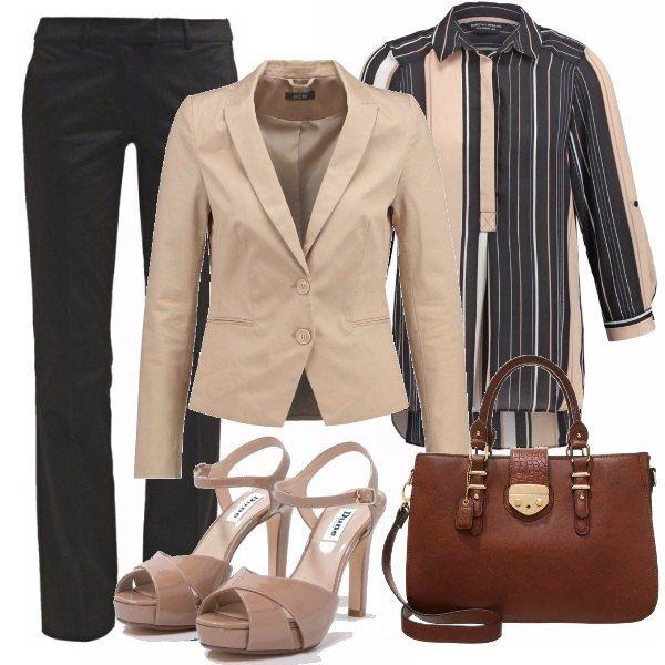 Cosa c'è più sexy di una donna che indossa una camicia maschile! Lo stile androgino è un look ispirato all' abbigliamento maschile, lo potete indossare quando uscite per fare shopping, per le serate eleganti, per l'ufficio. Mi raccomando, visto che è un look molto di tendenza, cercate sempre di essere molto femminili usando accessori come lunghe collane, sandali alti che vi rendano molto chic e femminili.
