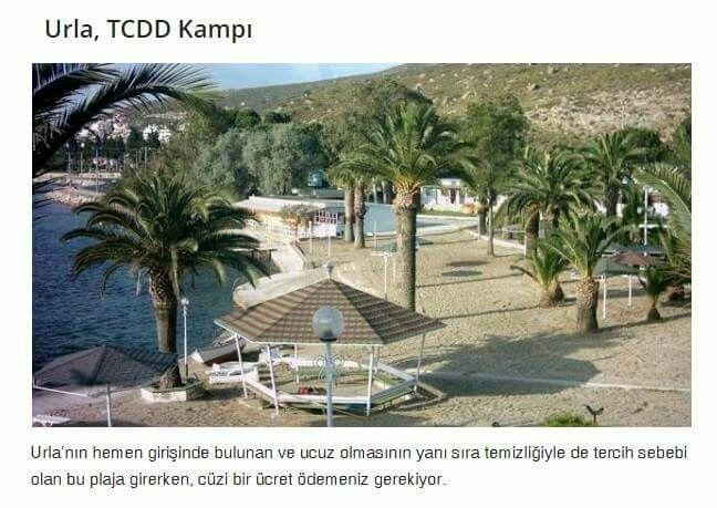 Urla, TCDD Kampı