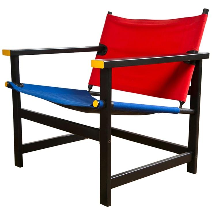 1stdibs | Directors Chair by Gerrit Rietveld