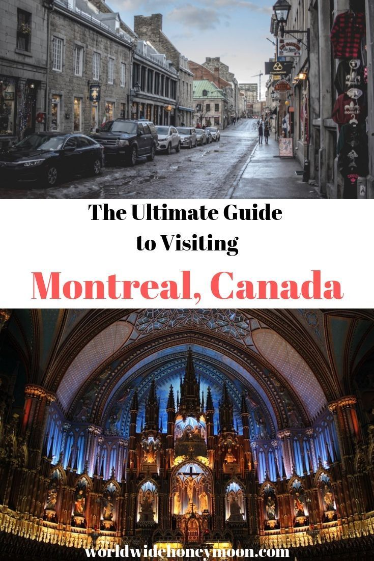Perfect 3 Day Montreal Itinerary Montreal Travel Canada Travel