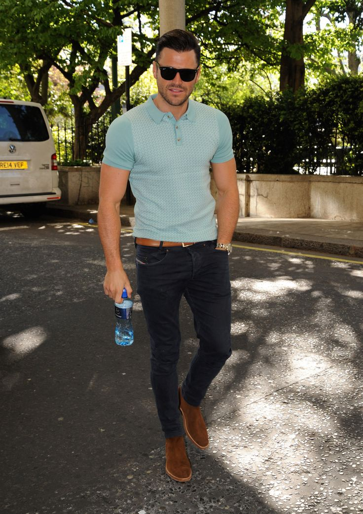 11 Completely Respectable Ways to Wear a Polo Shirt | GQ~MARK WRIGHT