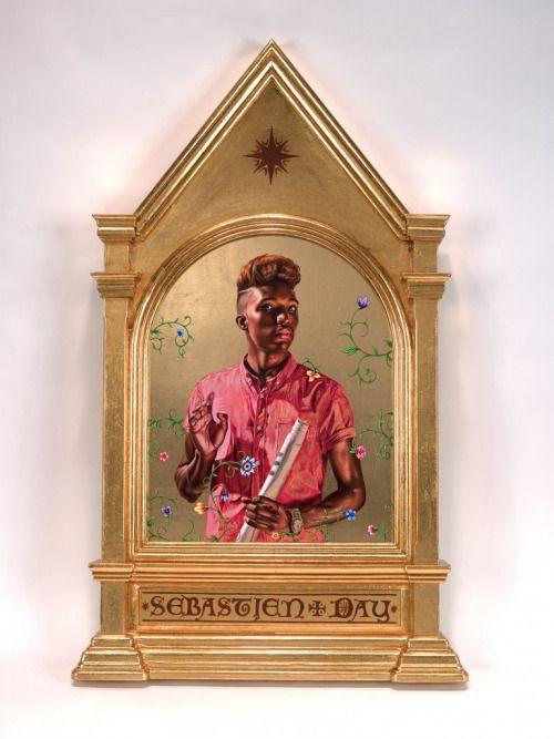 KEHINDE WILEY. Saint Paul (from the series Iconic), 2014, 22k... #Conceptual Art #концептуальное искусство #Arte concettuale #Art conceptuel #Arte conceptual #Konzeptkunst ?✏️ - https://wp.me/p7Gh1Z-2MH #kunst #art #arte #sztuka #ਕਲਾ #konst #τέχνη #アート