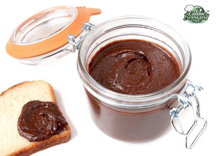 La Cuisine de Bernard: La Pâte de Noisettes au Cacao