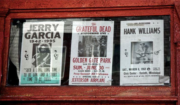 Some posters in shop window on Haight Street, San Francisco. © Miikka Järvinen 2013