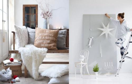 Raikkaan valkoinen joulu on ollut pinnalla pitkään.  Kuva: H Home/ Hemtex Copyright: MTV Oy