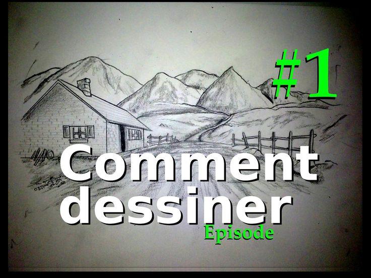 Comment dessiner [Episode #1] Matériel, paysages, perspective..