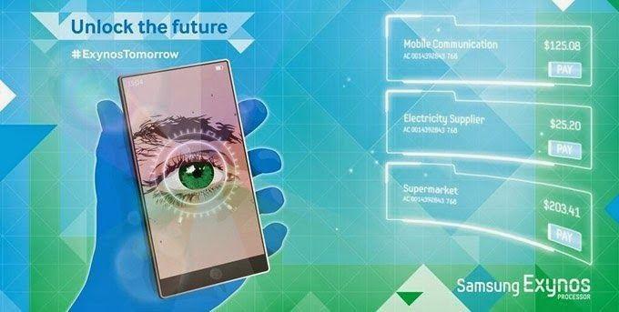 Samsung retina scanner
