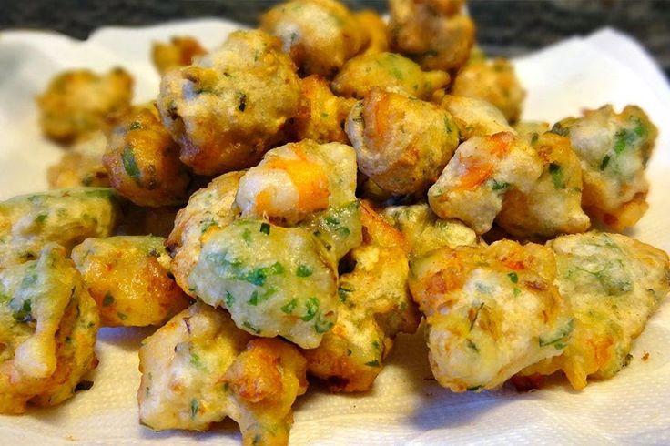 Accras de crevettes au Thermomix - Cookomix