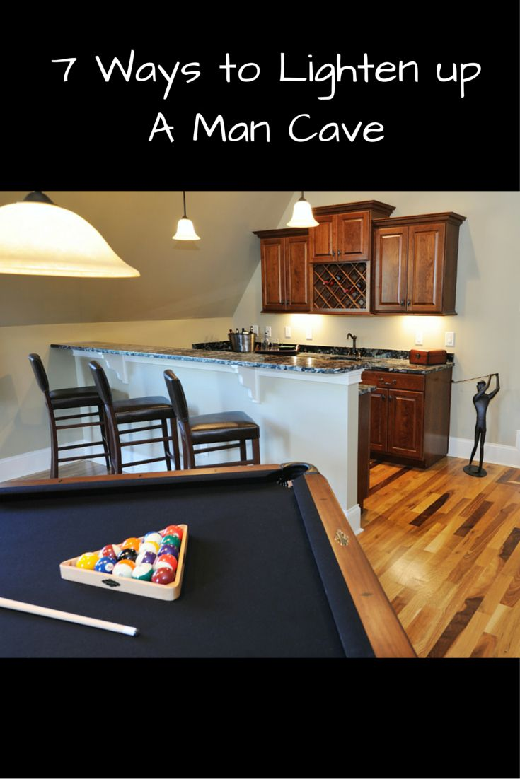 7 Ways To Light Up Your Man Cave U2013 Natural And Electrical Lighting Options