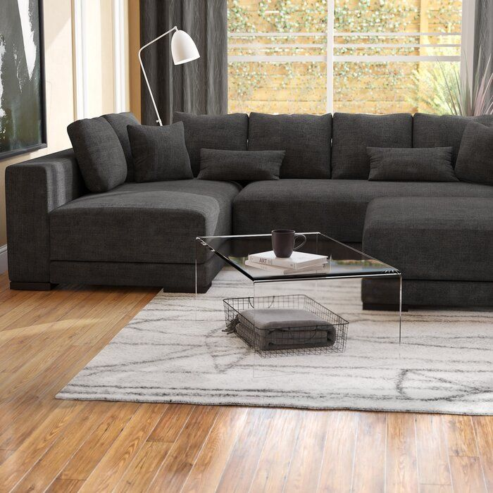 Danielle Left Hand Facing Sectional With Ottoman Sectional Sectional Sofa Couches Sectionals