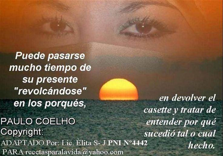 Cerrando Circulos Paulo Coelho | ... PAGINA EN NUESTRAS VIDAS ES NECESARIO CERRAR CIRCULOS....PAULO COELHO