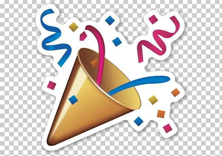 Emoji Sticker Confetti Party Smiley Png Confetti Emoji Emoji Movie Emoticon Heart Emoji Stickers Wine Logo Design Emoji