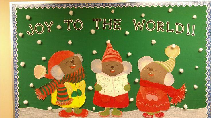 Joy to the World -- Christmas Bulletin Board