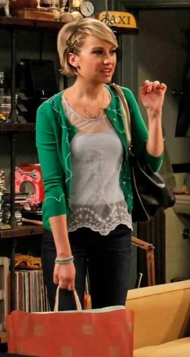 Riley Perrin wears an Anthroplogie Clipped Etymology Cardigan on Baby Daddy. Shop it: http://www.pradux.com/anthropologie-clipped-etymology-cardigan-28030?q=s58