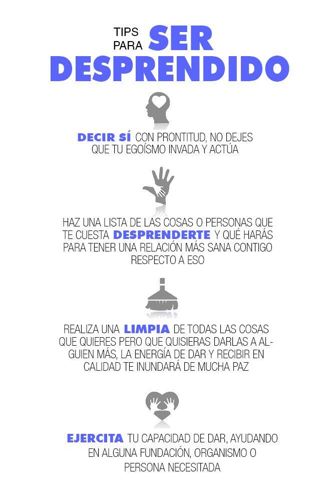 PLAYERS of life - TIPS PARA SER DESPRENDIDO Más