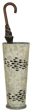 Fish Umbrella Stand beach-style-patio-furniture-and-outdoor-furniture