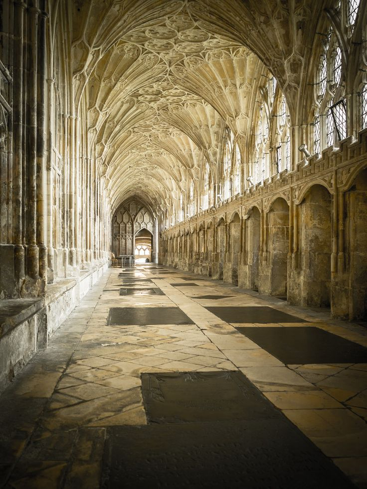 Gloucester Cathedral, England by jameslf