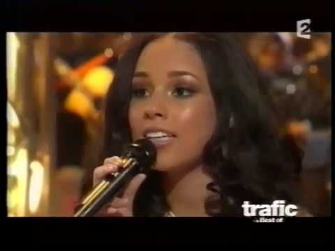 Alicia Keys sings in french avec Henri Salvador, Laurent Voulzy, Bernard...
