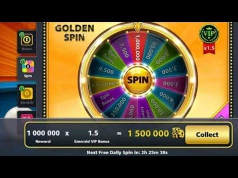 1 5 Million in Golden Spin History in 8 Ball Pool | Fanatic