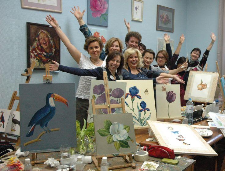 Botanical painting group!