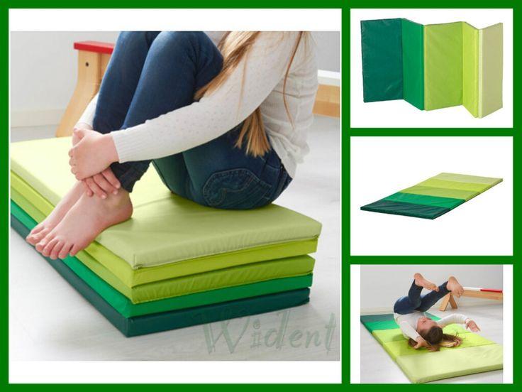IKEA PLUFSIG Folding Gym Mat Green