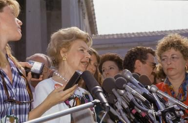 What Did Phyllis Schlafly Say From Her Anti-Feminist Position? (Answer: a lot of disgusting, ignorant, appalling things.)