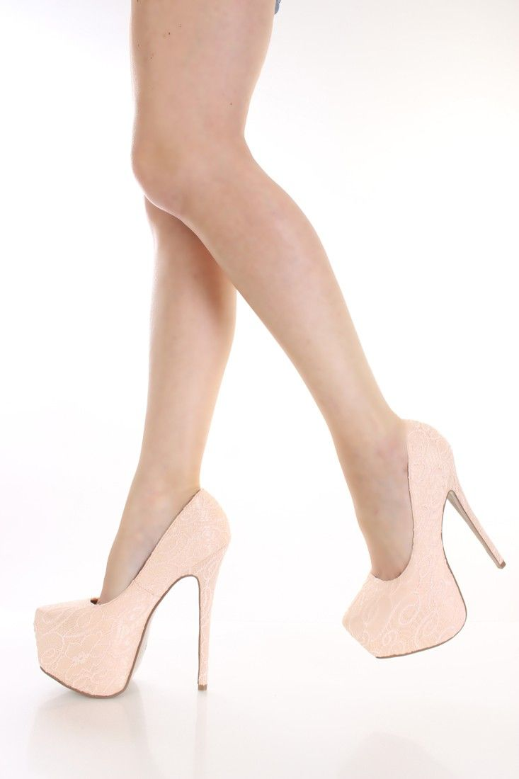 You can never go wrong with a nude pump... Versatility is everything!
