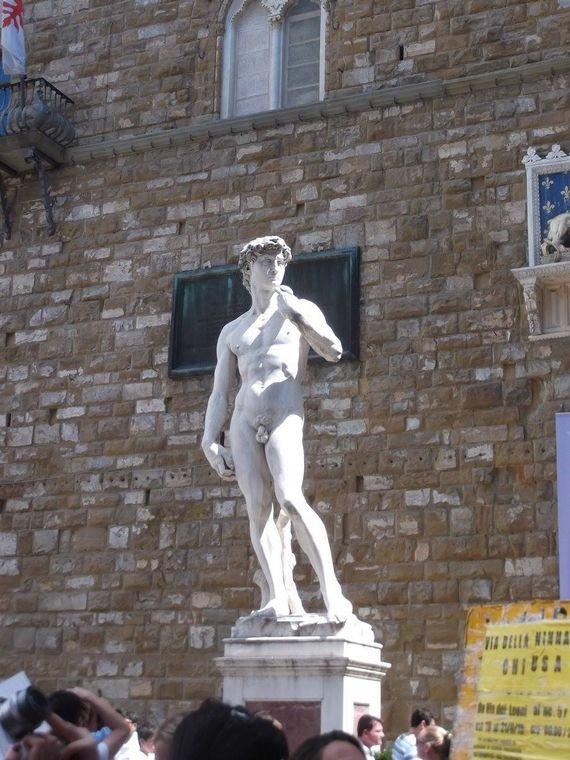 Davut Heykeli, Floransa, Italya