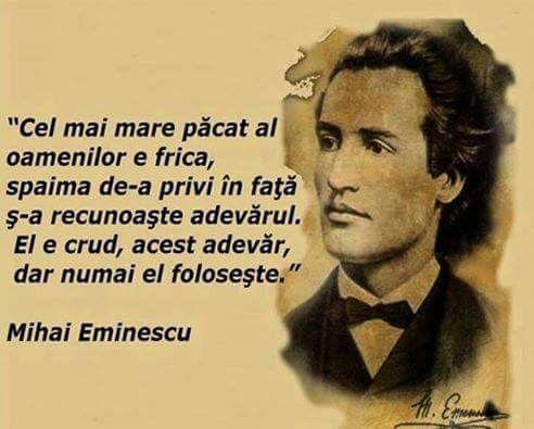 Marele nostru scriitor si poet, Remember :Mihail Eminescu!