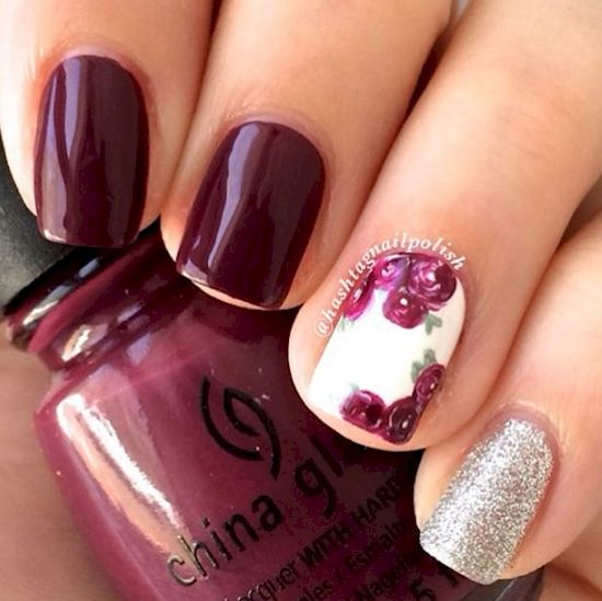 Here Are 12 Plum Manicures That Are Perfect For Fall.