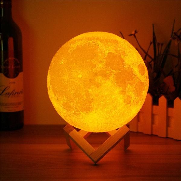 Moon Night Lamp Creative Lightning Moonlight Creativelightning Moonlamp Coolsweethome Led Night Light Lamp Night Light