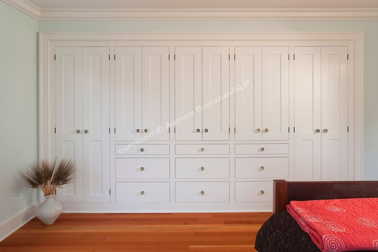 Custom Made Shaker/ Contemporary Built In Wall Storage System. Built To  Compliment The Decorating Style Of The Room, This Shaker Wall Unit Featuredu2026
