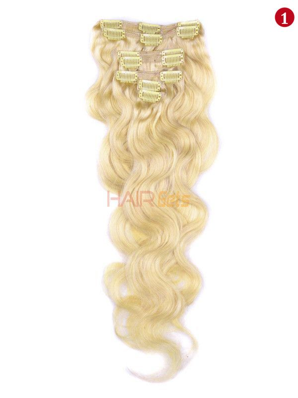 Pin By Eseewigs On 613 Hair Clip In Human Extension Body Wave