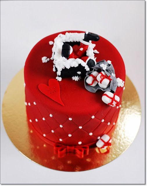 Mycakes: Jultårta 2013 Christmas cake