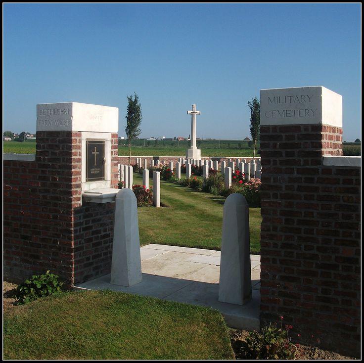 Bethleem West Cemetery, Mesen (Belgium)